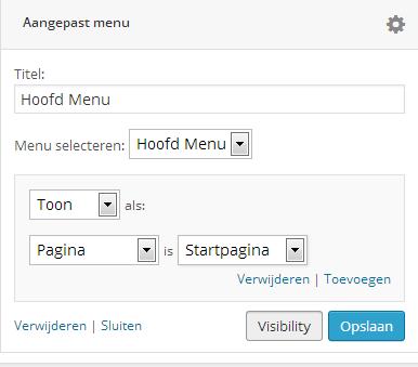 aangepast-menu-widget